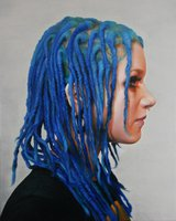 Blue Hair by Colin Paul Vincent