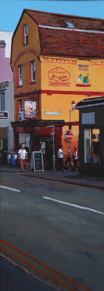 Kemptown Pub by Tom White.