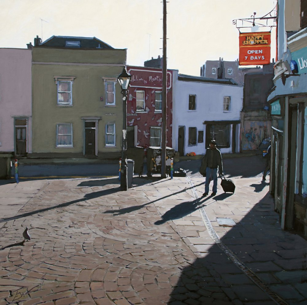 Picton Street, Montpelier, Bristol. by Tom White.