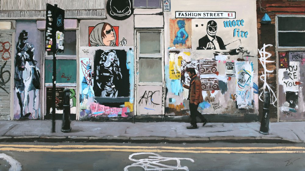 Fashion Street E1 by Tom White.