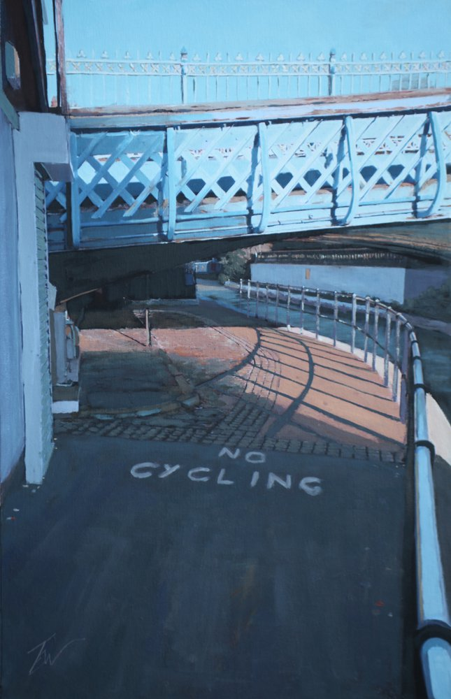 No Cycling by Tom White